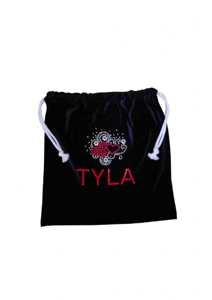 Personalised Handguard/Leotard Bags With Heart Motif From £9.50